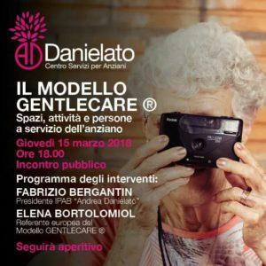 """Gentlecare all'IPAB """"Andrea Danielato""""di Cavarzere"""